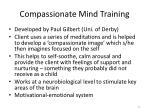 compassionate mind training