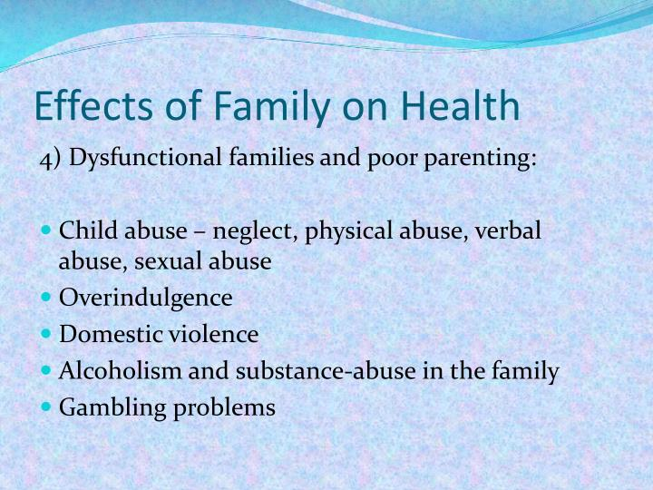 Effects of Family on Health