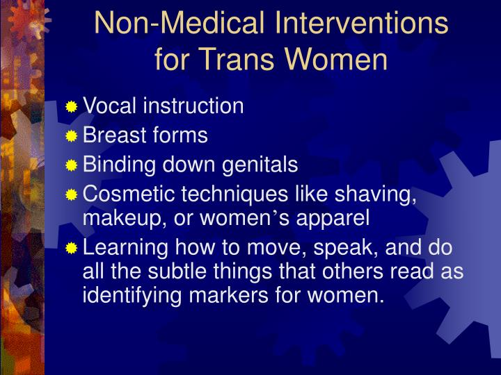 Non-Medical Interventions