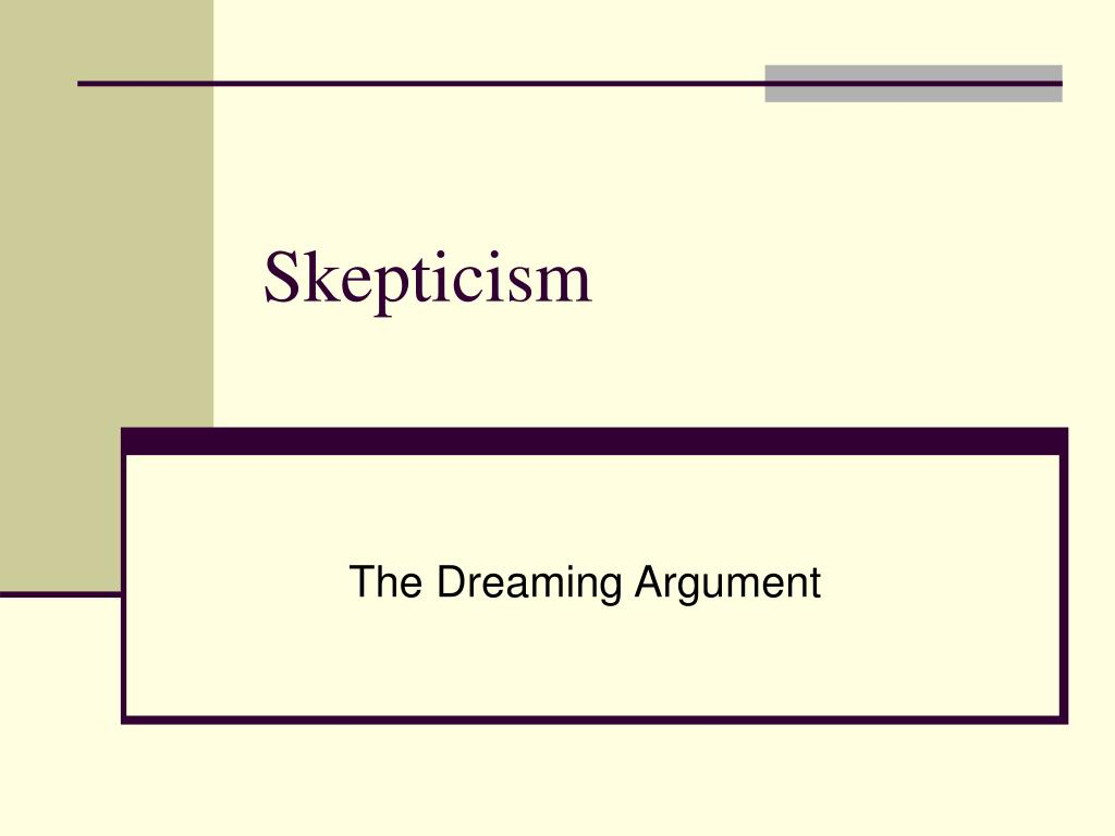 skepticism l.