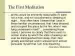 the first meditation4