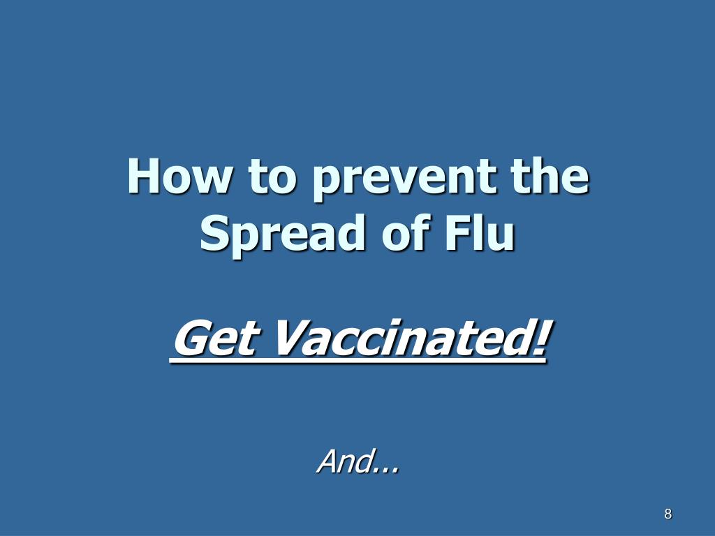How to prevent the Spread of Flu