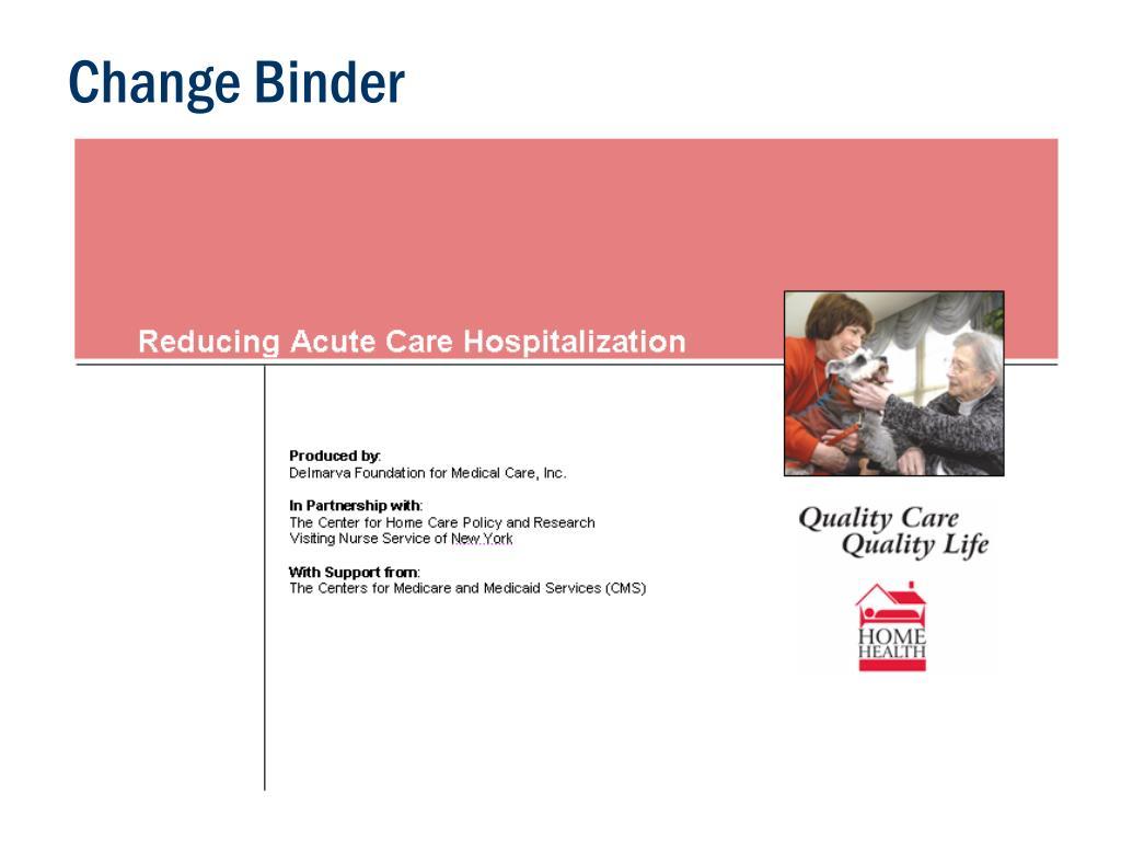 Change Binder