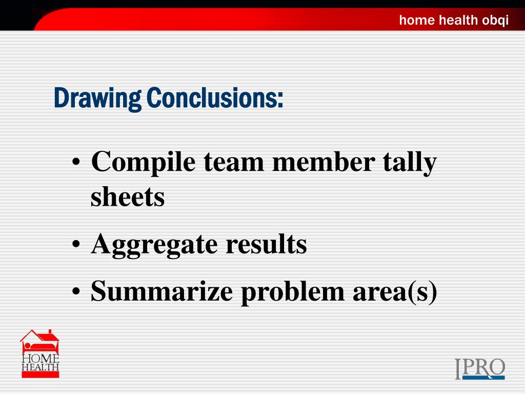 Drawing Conclusions: