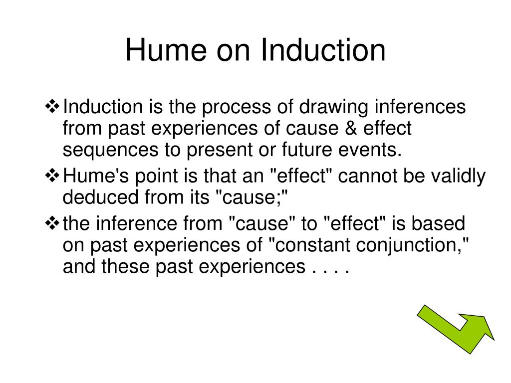 Hume on Induction