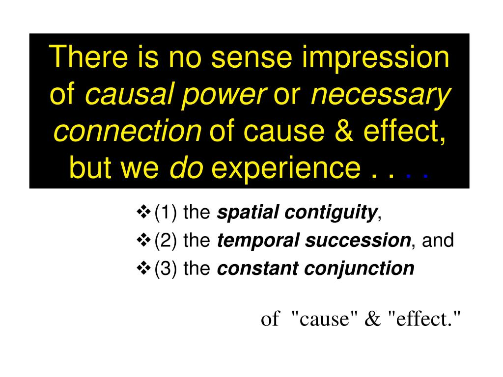 There is no sense impression of