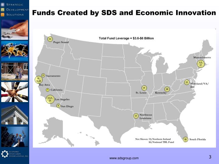 Funds Created by SDS and Economic Innovation