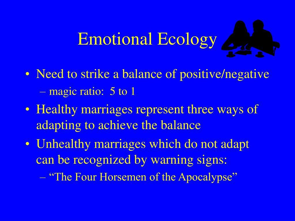Emotional Ecology