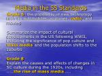 media in the ss standards
