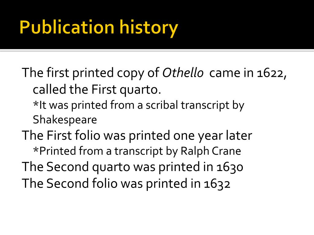 Publication history