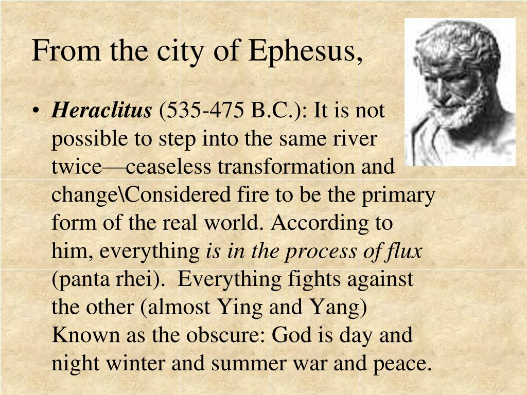 From the city of Ephesus,