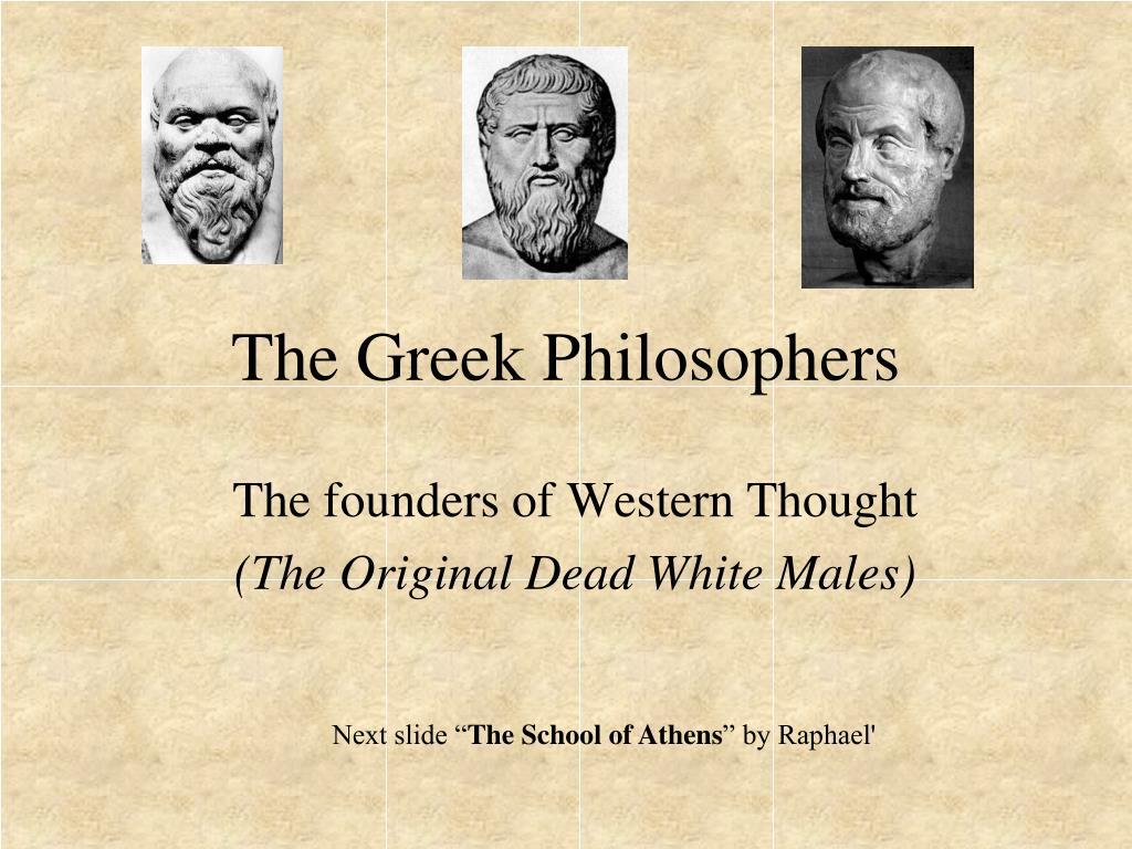 the greek philosophers l.