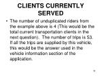 clients currently served35