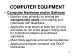 computer equipment19