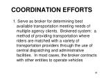coordination efforts68
