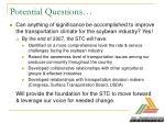 potential questions16