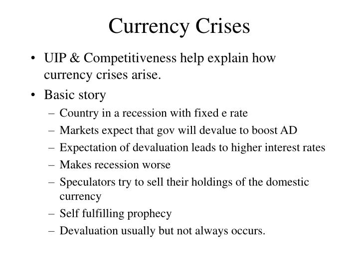 Currency Crises