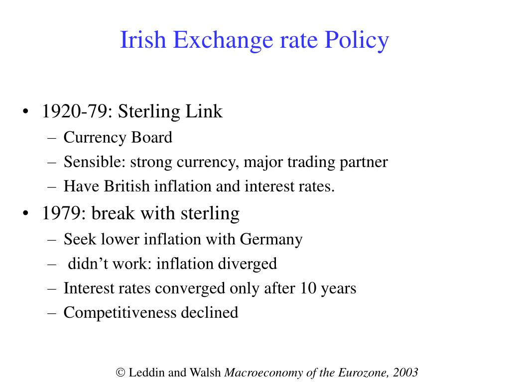 Market And Exchange Rates Point