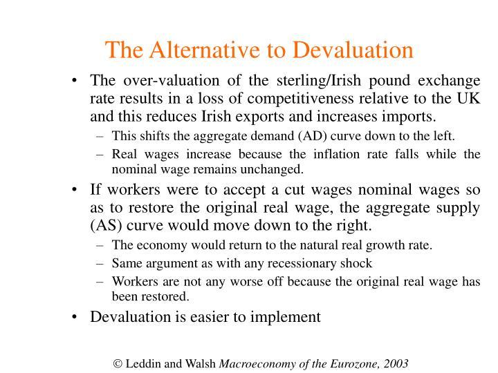 The Alternative to Devaluation