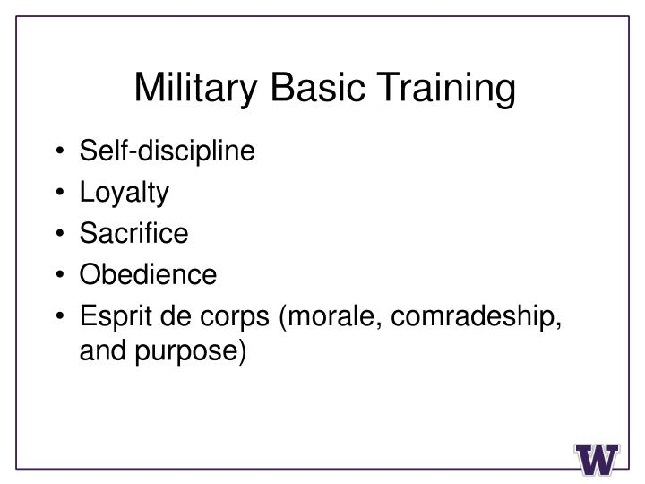 Military Basic Training