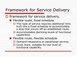 framework for service delivery10
