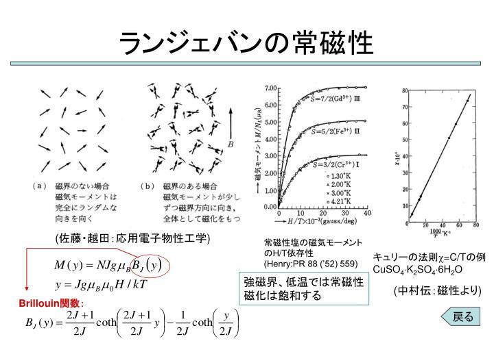 常磁性 - Paramagnetism - Japan...