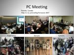 pc meeting