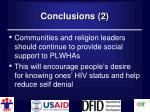 conclusions 21