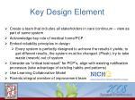key design element