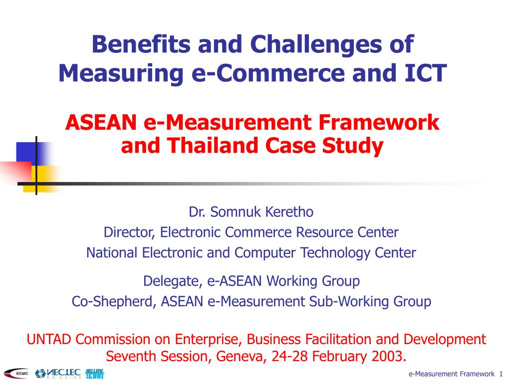 PPT - Benefits and Challenges of Measuring e-Commerce and