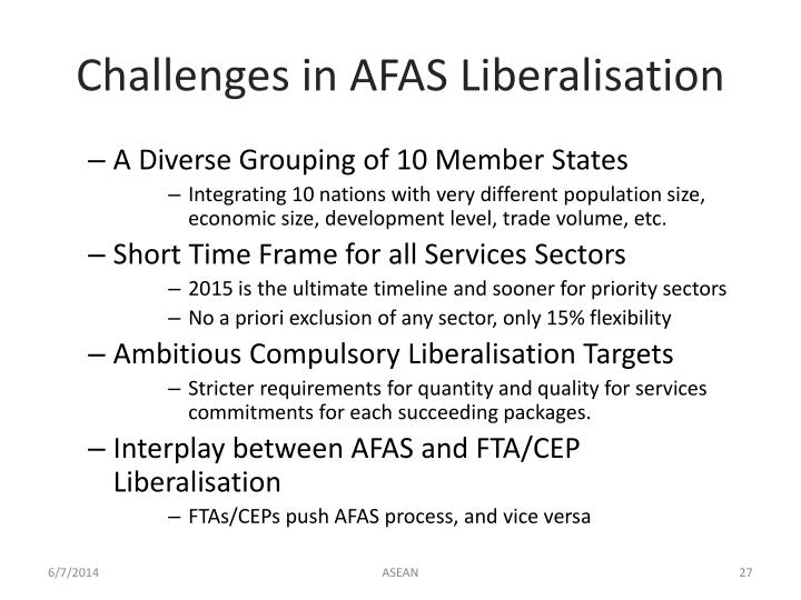 Challenges in AFAS