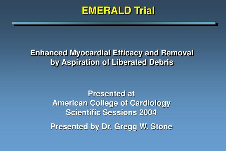 enhanced myocardial efficacy and removal by aspiration of liberated debris