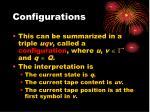 configurations1