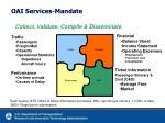 oai services mandate
