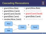 cascading revocations