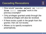 cascading revocations25