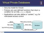 virtual private databases