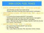 2006 local fuel taxes29