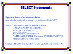 select statements4