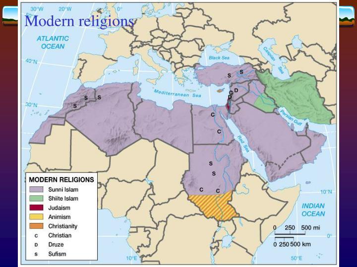 Modern religions