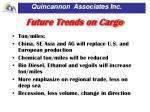 future trends on cargo1
