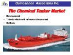 the chemical tanker market
