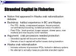 stranded capital in fisheries1