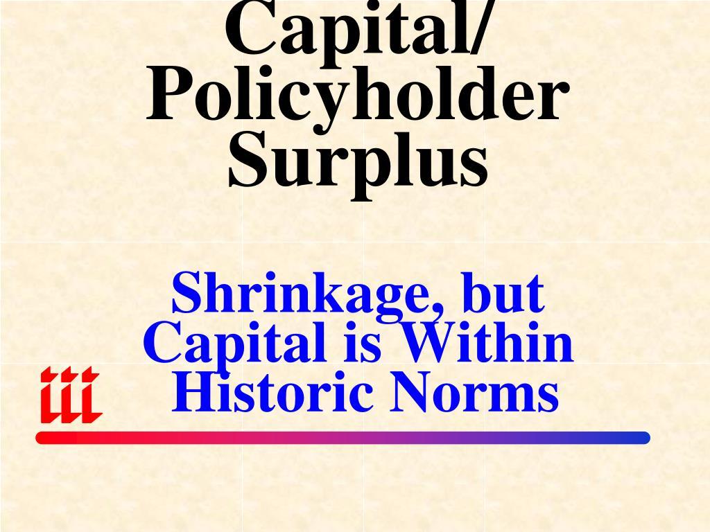 Capital/