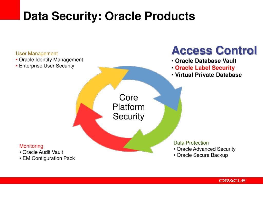 It's just a photo of Bright Oracle Label Security 11g