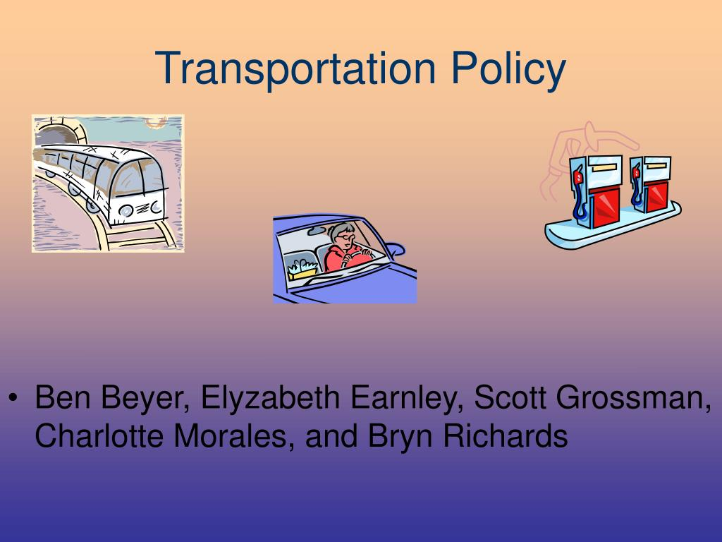 transportation policy l.