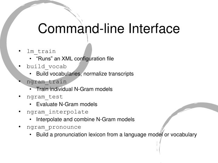 Command-line Interface