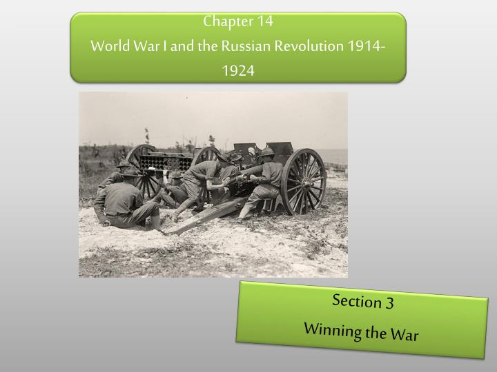 chapter 14 world war i and the russian revolution 1914 1924 n.