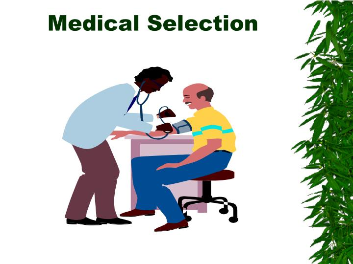 Medical Selection