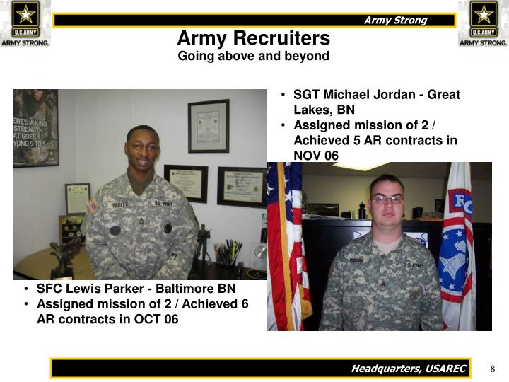 Army Recruiters
